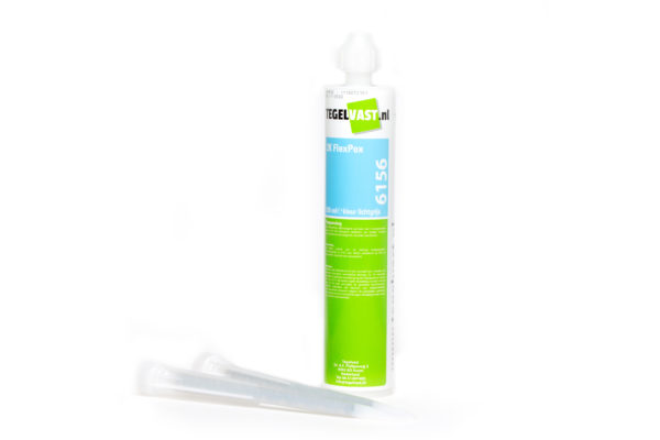 De epoxy kit van tegelvast, bekend als de tegelvast 2k-flexpox